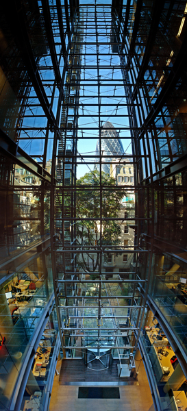 Atrium of Lloyd's Register, London